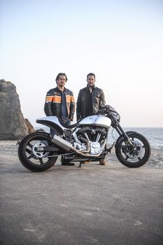 Arch Motorcycle Company founders with their KRGT-1