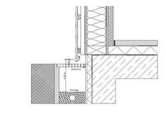 Holz: Konstruktiver Holzschutz | Fassade | Materialien ... Holzbau detail sockel