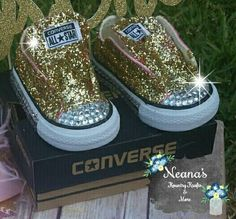 127 Best Bling Chucks Images Baby Girl Shoes Converse Shoes