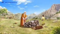 """Abraham builds an altar 
