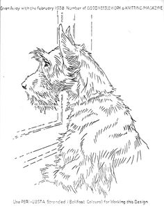 -find a good photo of your pet and sketch away.  If you don't feel comfortable drawing, you may wish to get an artist to do it....would make great gift for the dog lover in your life.