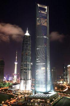 Shanghai: Shanghai World Financial Center