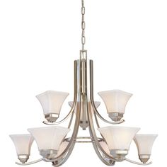 Kichler Dover 5 Light Chandelier Reviews Wayfair Home decor