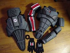 Detailed pictures of completed N7 armor via eBay