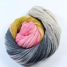 Hand Dyed Sock Yarn SW Sock 80/20 Superwash | Spun Right Round