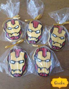 Galletas Iron Man