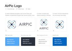 Logo AirPic, consigue el diseño de tu logo o rediseño con descuento. WhatsApp +5219841793599