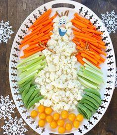 40 idées repas santé et amusant de légumes pour un anniversaire d'enfant!