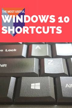 Quicken your computing with these great Windows 10 keyboard shortcuts.