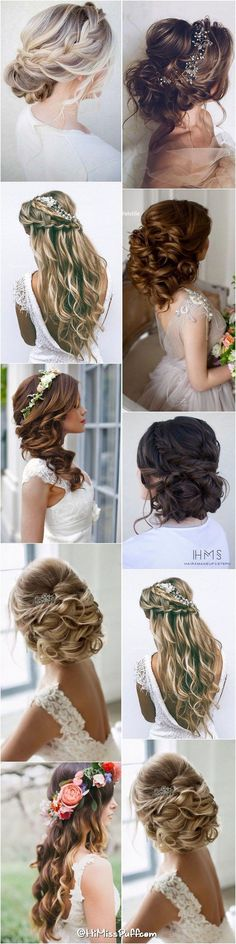 nice 200 Bridal Wedding Hairstyles for Long Hair That Will Inspire / www.himisspuff.c... by http://www.tillsfashiontrends.us/hairstyles/200-bridal-wedding-hairstyles-for-long-hair-that-will-inspire-www-himisspuff-c/