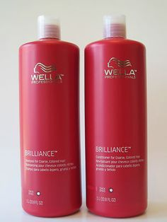 Wella Professionals Brilliance Shampoo & Conditioner liter duo.  Purchase for $39.95 with FREE SHIPPING!  Visit my ebay store:  Mike's Beauty Outlet maintained by beautydealer for more great products at great prices.