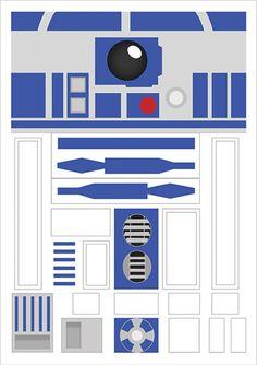 R2D2 - Todos | Posters Minimalistas
