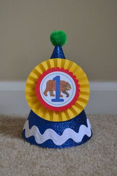 Brown Bear, Brown Bear Birthday Party Hat