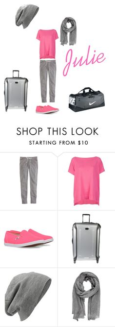 """""""Untitled #4"""" by cloclo3493 ❤ liked on Polyvore featuring J.Crew, Diane Von Furstenberg, Vans, Tumi, NIKE and Codello"""