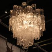 [Chandeliers] : new collection of mid century chandeliers  olde good things glass chandelier pieces glass chandelier lighting