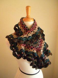 spring crafts: colorful scraves, free crochet patterns   make handmade, crochet, craft
