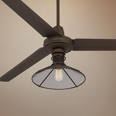 """60"""" Turbina™ Oil-Rubbed Bronze Ceiling Fan"""