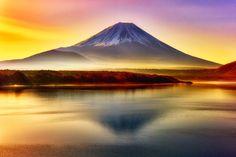 fuji by Akio Iwanaga - Photo 102090575 - Fuji Mountain, Monte Fuji, Prince, Mountain Landscape, Landscape Photographers, Landscape Photos, Japan Travel, Amazing Nature, Wonderful Places