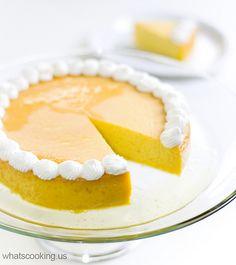 mango and honey Flan #recipe #dessert #pretty
