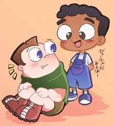 Childhood Buford and Baljeet Phineas And Ferb Perry, Phineas Und Ferb, Cute Disney Pictures, Pokemon Pictures, Cartoon As Anime, Cartoon Shows, Cute Disney Drawings, Cute Drawings, Disney Memes