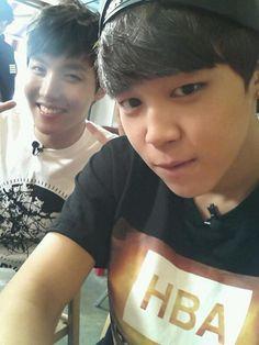 J-Hope 제이홉 and Jimin 지민 from Bangtan Boys 방탄소년단