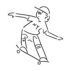 NewYork Boy 本日からNewYork生活スタート I've started NewYork life today. #newyork #nyc #skateboard #skate #character #fashion #seijimatsumoto #松本セイジ #art #artwork #draw #graphic #illustration #イラスト #ニューヨーク#スケボー #ファッション #デザイン #アート