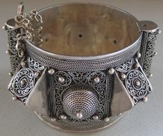 bracelet Berbere argent massif