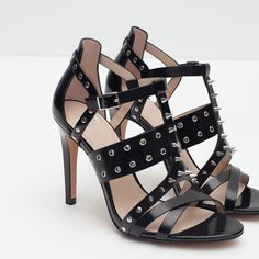 Image 7 of STUDDED SANDALS from Zara