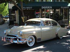 1949 Chevrolet 2 Door Fleetline Deluxe- (Chevrolet Motor Co. Detroit, Michigan 1911-present)