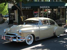 1949 Chevrolet 2 Door Fleetline Deluxe - (Chevrolet Motor Co. Detroit, Michigan  1911-present)