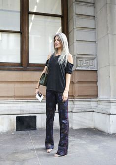 Sarah Harris - London - British Vogue Fashion Writer