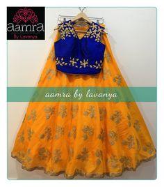Designer legends with blouseFor details please watsapp on +91-9177363970 or email to aamrabylavanya@gmail.com 08 December 2016
