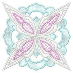 Free Machine Embroidery Design Lovely Candlewick Designs by Julie Hall Designs