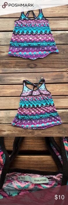 Maurice's Racerback Tank Top Gently worn• No Trades or Modeling• Fast Shipping• Accepting reasonable offers Maurices Tops Tank Tops