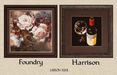 Launching TODAY-Foundry & Harrison #customframe collections by Larson-Juhl. How would you use them?