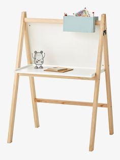 Schreibtisch für Vorschulkinder - weiß - 1