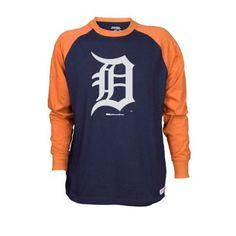 Stitches Men's Detroit Tigers Colorblock Raglan Tee $17.50