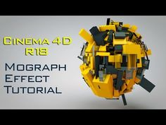 Cinema 4D R18 MoGraph Tutorial for Beginners   Cinema 4D R18 Tutorial for Beginner - YouTube