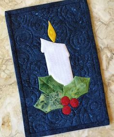Stitching With 2 Strings: A Pair of Projects With Candles