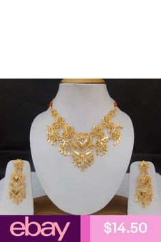 Fashion Jewelry Necklaces, Jewelry Sets, Gold Jewelry, Jewelry Watches, Jewellery, Indian Ethnic, Earring Set, Jewelry Collection, Plating