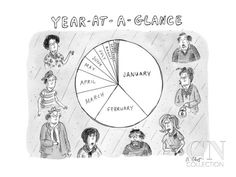 New Yorker Cartoon Poster Print by Roz Chast at the Condé Nast Collection