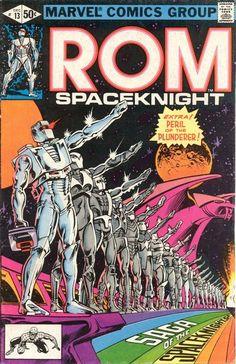 Rom: Space Knight # 13 by Al Milgrom & Steve Leialoh