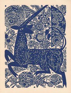 'Unicorn' by Jozef Domjan