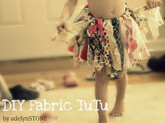 Fabric TuTu Tutorial