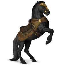 Bucephalus is one of the legendary horses, along with Amira, Altair, Zaldia, and Tormenta. Cute Fantasy Creatures, Magical Creatures, All The Pretty Horses, Beautiful Horses, Horse Drawings, Animal Drawings, Star Stable Horses, Arte Equina, Horse Animation