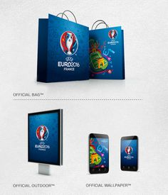 Brandia Central  Official bag Euro 2016 #packaging PD