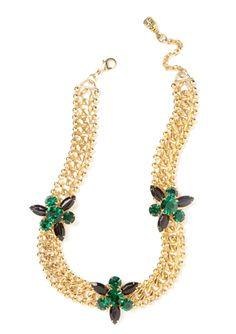 YOCHI DESIGNS 3 Starburst Chain Necklace