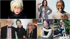 Especial da Maturidade – Senhoras e estilosas: Looks, perfis para seguir, cabelos brancos e elegância na terceira idade