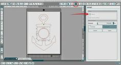 Circle Split Anchor Silhouette Studio Tutorial (Works for Any Shape) ~ Silhouette School