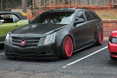 "radracerblog: "" Cadillac CTS Sport Wagon @okstance """